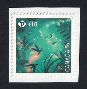 Canada 2021 Fireflies Community Foundation, MNH 'P' single from booklet