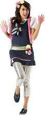 St- Trinians Verkleidung bunt - 5tlg Kostüm - Gr. M - Rubies - Schulmädchen Neu