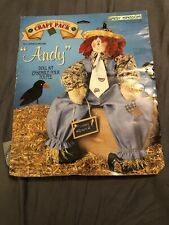 "Daisy Kingdom Scarecrow Andy 22"" Doll Sewing Kit #32502"