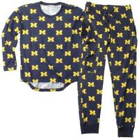 Womens University of Michigan Wolverines Matching PJs Family Matching Pajama