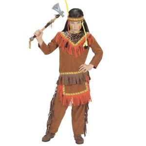 KINDER INDIANER KOSTÜM / Karneval Häuptling Indianerkostüm Jungen Verkleidung