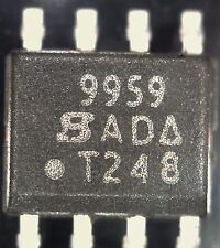 Si9959dy SMD DUAL A TRANSISTOR Mosfet canale N so8 9959 Vishay SILICONIX s19959