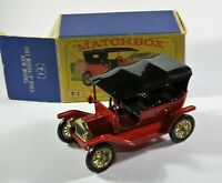 Matchbox Models of Yesteryear Y-1 1911 Ford Model T Boxed Diecast Vintage Car