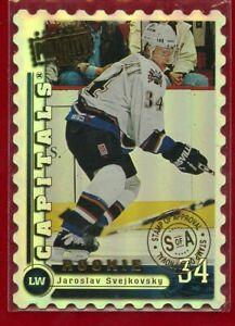 JAROSLAV SVEJKOVSKY MINT 1998 CARD 167 DONRUSS PRIORITY ROOKIE # 032/100