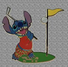 Stitch Sports Golf Pin -  Disney Auctions Pin LE 100