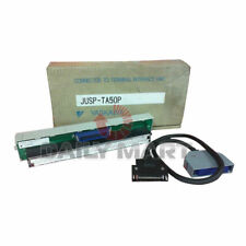 YASKAWA JUSP-TA50P TERMINAL BLOCK REPLACEMENT WITH 0.5M CABLE CONNECTOR PLC NEW