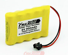 Ni-Cd 6V 900mAh Rechargeable Battery for Model toys Racing Car w/SM2P AA5SB US