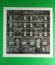 Led Zeppelin Physical Graffiti Building Square Mini Poster 8x8 Music Lithograph