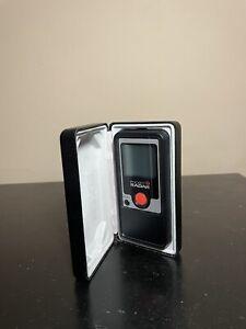 Pocket Radar PR1000 Speed Radar Gun with Case GREAT CONDITION