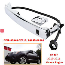 Front Left Chrome For Nissan Rogue 2010-2013 Outside Door Handle Smart Entry
