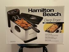 Hamilton Beach Deep Fryer - 12 Cup Oil Capacity - Model 35030DI
