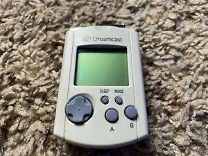 Sega Dreamcast Visual Memory Unit VMU Memory Card HKT-7000 White Used
