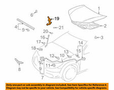 1998-2008 Chevy Prizm Hood Hinge Driver Side New OEM 94857420