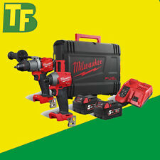 Nuovo di Zecca Milwaukee M18FPP2A2-502X Generation 3 18v CARBURANTE Li-ion Twin Pack