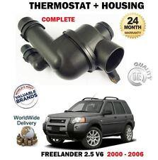 FOR LAND ROVER FREELANDER 2.5i V6 25KV6 2000-2006 NEW THERMOSTAT & HOUSING KIT