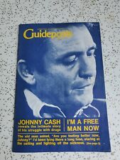 Original JOHNNY CASH Guideposts MAGAZINE 1970