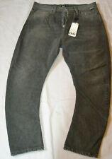 D&G Mens MENS G-STAR RAW JEANS PANTS W32- L26 faded black