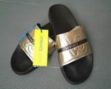 286d15c1c Versace Jeans men's gold slides size 45 (11UK)
