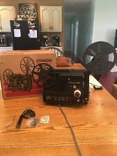 Vintage Chinon Sound 7500 Super 8mm Movie Projector w/ Magnetic Sound - Tested