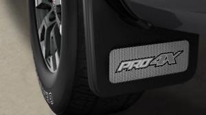 Genuine Nissan 2020 Titan Mud Flap Rear Kit - Pro-4X NEW OEM