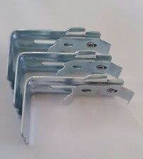 Vertical Blind Wall Mount Brackets with Clips and Built in Valance Holders