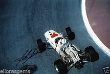 "Formula One F1 Driver John Surtees Hand Signed Photo 12x8"" Rare Autograph - CM"