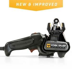 Work Sharp New & Improved Knife And Tool Sharpener MK2 Coarse/Medium/Fine WSKTS2