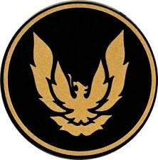 1982-92 GTA Wheel Cap Emblem Gold/Black 2-1/8 diameter