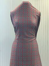 Tartan Check Design Jersey Scuba Fabric~ Premium Quality