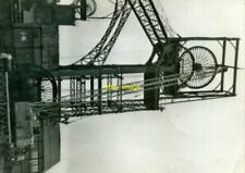 PHOTO  SHEAVE REPLACEMENT ON NO.1 HEADGEAR AT DEEP NAVIGATION COLLIERY S.WALES I
