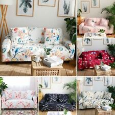 1PC Sofa Slipcover or Pillowcase 1/2/3/4 Seater Couch Stretch Cover Protector