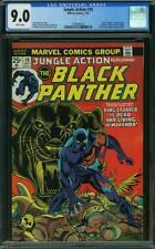 Jungle Action #10 CGC 9.0 -- 1974 -- Black Panther. Kane Giacoia. #1999549014