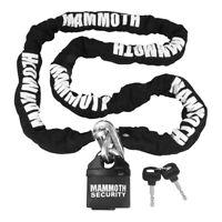 Bike It Mammoth Motorcycle/Bike Security Square Link Lock & Chain - 1.8 Metre