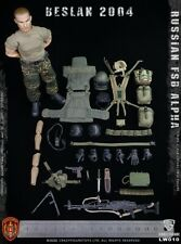 Crazy Figure LW010 1/12th Russian Alpha Special Forces Machine Gunner Model Toys