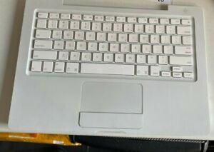 "Apple Macbook 13"" A1181 2007 UK Keyboard Palmrest Trackpad Touchpad Top Case"