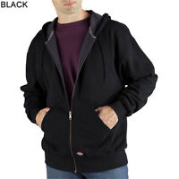 Dickies TW382 Thermal-Lined Zip-Front Hooded Sweatshirt Various Colors & Sizes