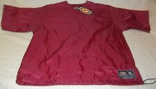 Easton Game Day Pullover Short Sleeve Maroon Windbreaker A161984 Xlarge 2 Snaps