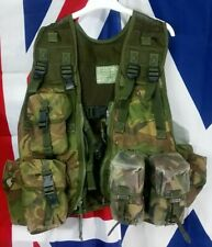 Genuine British Army Issue DPM Woodland Camo Combat Assault Vest grade 2