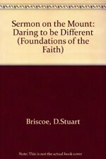 Sermon on the Mount: Daring to be Different (Foundations of the Faith),D.Stuart