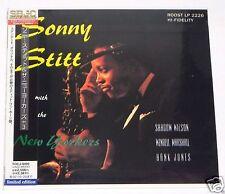 SONNY STITT / Sonny Stitt & The New Yorkers JAPAN CD Mini LP w/OBI TOCJ-9405 NEW