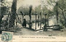 Carte BELLEVIGNE EN LAYON Un coin du Domaine de l'Etang à Thouarcé Jolie femme