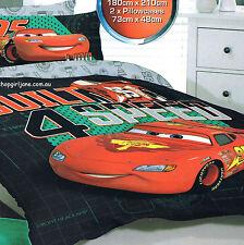 Disney Cars McQueen - Built 4 Speed - Double/US Full Bed Quilt Doona Duvet Cover