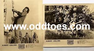 Albert Collins Promo Photos Set of 2