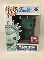 Freddy Funko Statue Of Liberty Funko Pop. 6000 pcs-RARE 2017 NYCC Exclusive