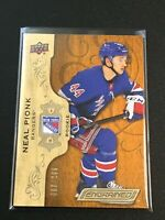 F60215  2018-19 Upper Deck Engrained #82 Neal Pionk RC /299 RANGERS