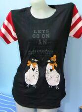H4:New Penguin by Munsingwear Cotton Tops Shirt  for Women-Large