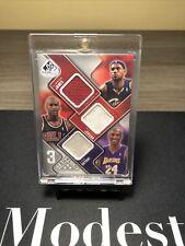 2009-10 UD SP Game Used LeBron James Michael Jordan Kobe Bryant Jersey /299