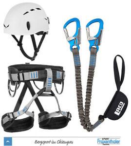 Klettersteigset LACD Ferrata Pro Evo 2.0 + Gurt LACD Start + Salewa Toxo