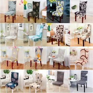 Chair Cover Stretch Removable Seat Slipcover Wedding Party Dining Room Decor