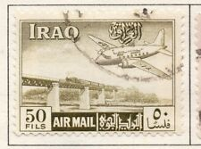Iraq 1949 Air  Issue Fine Used 50f. 139112